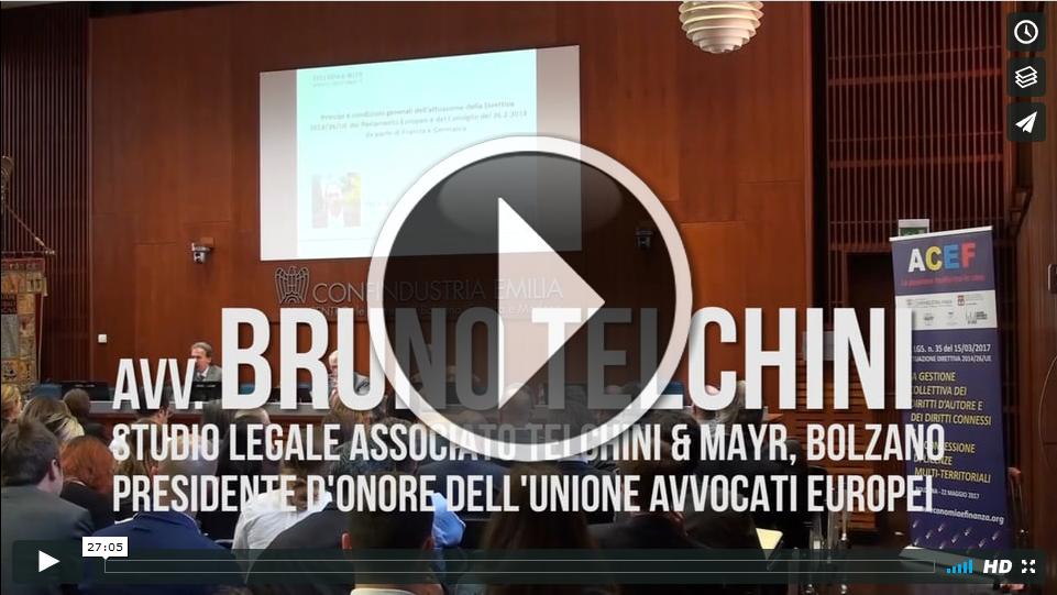 Principi e condizioni generali dell'attuazione della Direttiva 2014/26/UE da parte di Francia e Germania